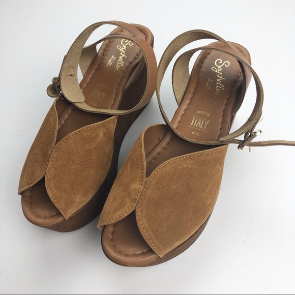 ac63cd130c1b Anthropologie Shoes - Anthro Seychelles Laugh More wedge sandals
